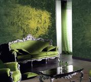 Декоративные краски,  штукатурки,  грунтовки,  лепнина,  кованая мебель