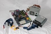 Комплект для ПК,  материнская плата,  процессор,  оперативка и др.
