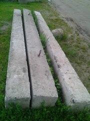 бетонные перемычки,  3 шт.