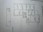 Продам 4-х комнатную квартиру 79, 5/55/9 м2