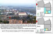 3-комнатная квартира ; 83, 64, 6 в г.Пинск.,  пл.Ленина