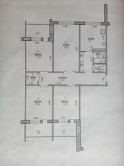 4-х ком квартира